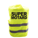 Gilet de signalisation humoristique SUPER MOTARD