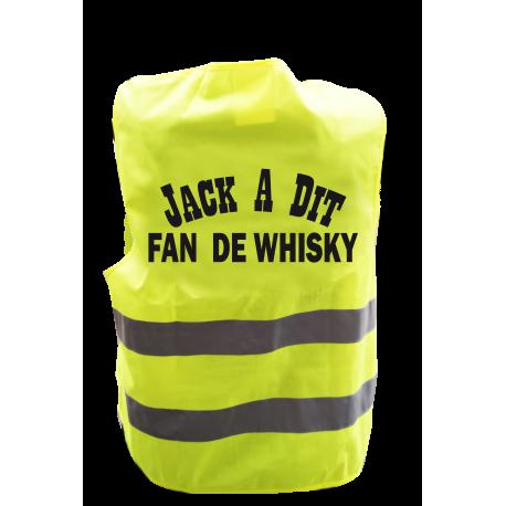 Gilet de signalisation humoristique JACK A DIT