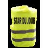 Gilet de signalisation humoristique STAR DU JOUR