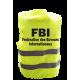 Gilet de signalisation humoristique FBI