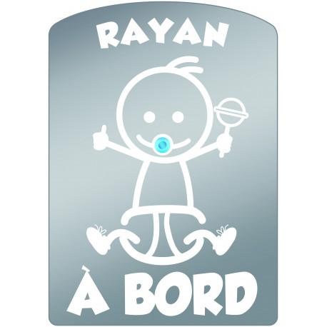 Plaque de voiture transparente RAYAN