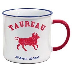 Tasse US Horoscope Taureau