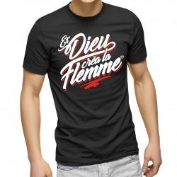 T-Shirt Et Dieu créa la flemme