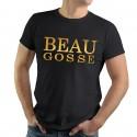 T-Shirt Beau Gosse impression dorée