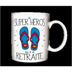 MUG pour tous les JEUNES RETRAITES ! Super Héros à la retraite !