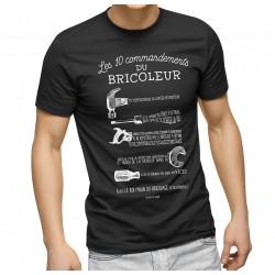T-Shirt les 10 commandements du bricoleur
