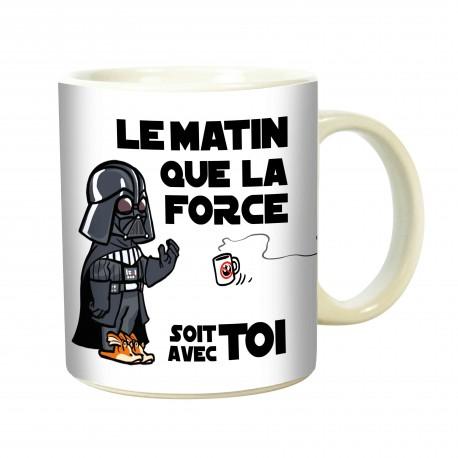 MUG QUE LA FORCE...