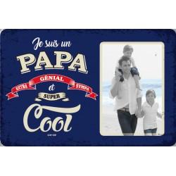 """Plaque vintage """"Papa cool"""""""