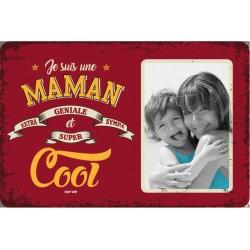 "Plaque vintage ""Maman cool"""