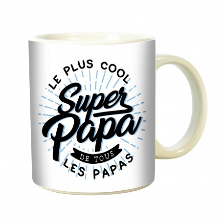 MUG SUPER PAPA COOL