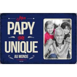 """Plaque vintage """"Mon papy chéri"""""""