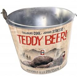 Seau à bières ou bouteilles en verre TEDDY BEER