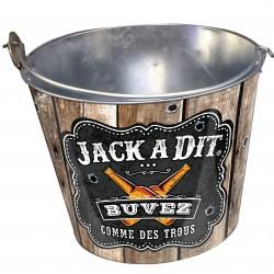 Seau à bières ou bouteilles JACK A DIT