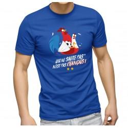 T-Shirt Qui ne saute pas n'est pas n'est pas français