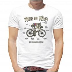 T-Shirt Pro du vélo