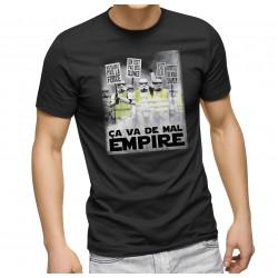 T-Shirt Ça va de mal empire