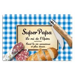 Planche à découper SUPER PAPA