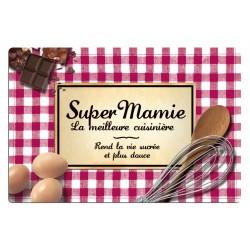 Planche à découper SUPER MAMIE