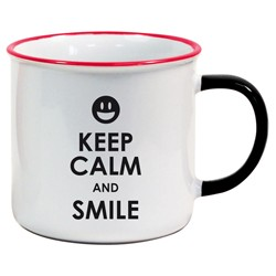 Tasse US Keep Calm and Smile