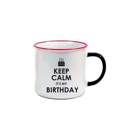 Tasse US Keep Calm It's my Birthday