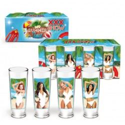 Kit de 4 Shooters Summer Time