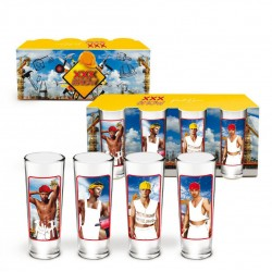 Kit de 4 Shooters Show Men TP