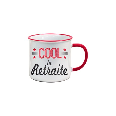 Tasse US Cool la retraite