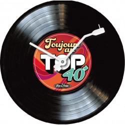 Horloge 33T Top 40