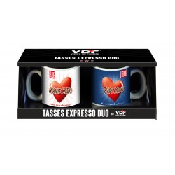 Tasse expresso duo Mamie et Papy