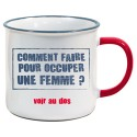 Tasse US Comment occuper une femme