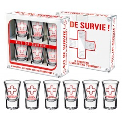 Kit de 6 Shooters Kit de survie