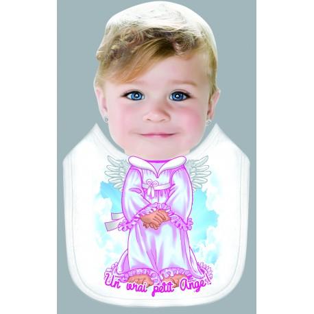 Bavoir Bébé - Enfant UN VRAI PETIT ANGE