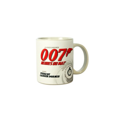 MUG 007 HEURES DU MAT***