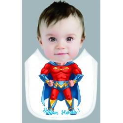 Bavoir garçon SUPER HEROS