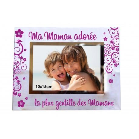 "Cadre photo ""Maman Adorée"""