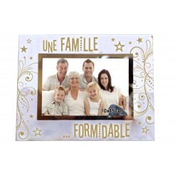 "Cadre photo ""Une famille formidable"""