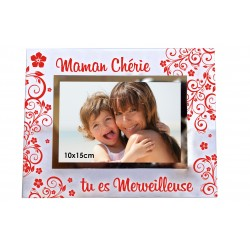 "Cadre photo ""Maman Chérie"""