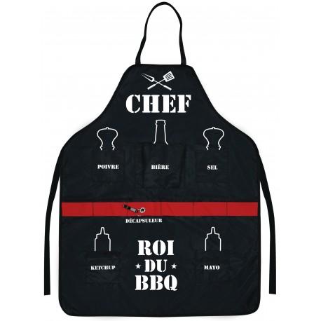 Tablier CHEF Roi du Barbecue