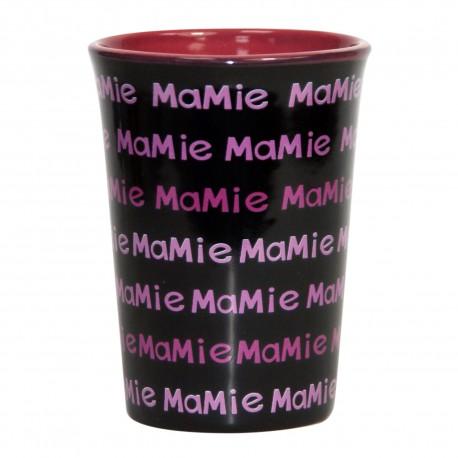 Mug / Tasse en céramique MAMIE Fond noir