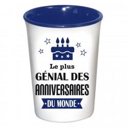 Mug / Tasse en céramique LE PLUS GENIAL DES ANNIVERSAIRES