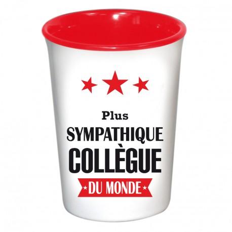 Mug / Tasse en céramique SYMPATHIQUE COLLEGUE