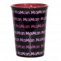 Mug / Tasse en céramique MAMAN Fond noir