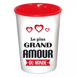 Mug / Tasse en céramique LE PLUS GRAND AMOUR