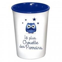 Mug / Tasse en céramique LE PLUS CHOUETTE DES PARRAINS