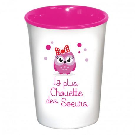 Mug / Tasse en céramique LA PLUS CHOUETTE DES SOEURS