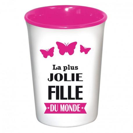 Mug / Tasse en céramique LA PLUS JOLIE FILLE