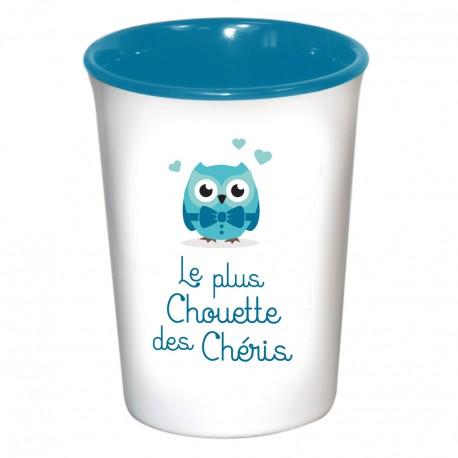 Mug / Tasse en céramique LE PLUS CHOUETTE DES CHERIS
