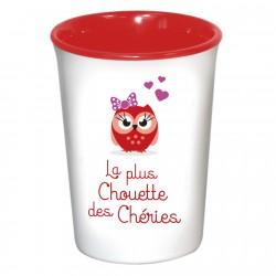 Mug / Tasse en céramique LA PLUS CHOUETTE DES CHERIES