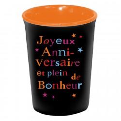 Mug / Tasse en céramique JOYEUX ANNIVERSAIRE