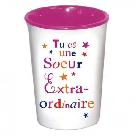 Mug / Tasse en céramique SOEUR